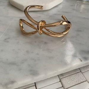 Gold Bracelet and Ring Set